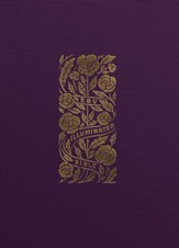 ESV Illuminated Bible, Art  Journaling Edition--cloth over board, eggplant