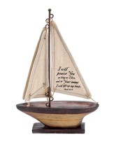 I Will Praise You As Long As I Live Sailboat, Medium