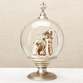 Holy Family Open Dome Tabletop Figurine