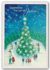 Celebrating the Gift Of Jesus, Christmas Cards, Box of 18