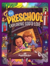 Exploring God's Love Student Manual  (2nd Edition; Preschool K4)