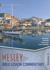 Wesley Bible Lesson Commentary Volume 3 / Revised edition #3