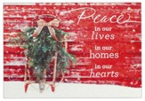 Peace In Our Hearts, Christmas Cards, Box of 18
