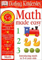Math Made Easy: Kindergarten Workbook