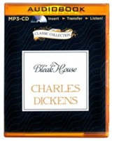 Bleak House - unabridged audiobook on CD