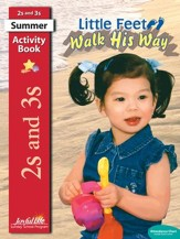 Little Feet Walk His Way (ages 2 & 3) Activity Book