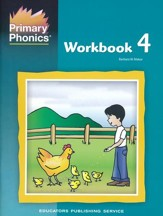 Primary Phonics Workbook 4  (Homeschool Edition)