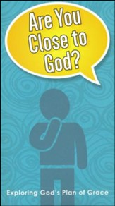 Are You Close to God, pack of 10