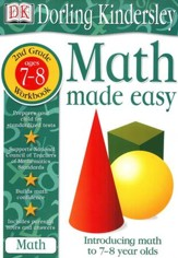 Math Made Easy: Second Grade Workbook