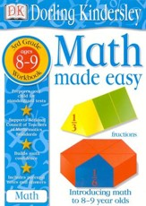 Math Made Easy: Third Grade Workbook