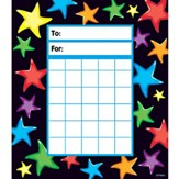 Gel Stars Incentive Pad (Pad of 36 Charts)