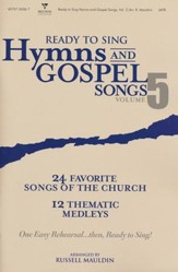 Ready to Sing Hymns and Gospel Songs, Volume 5 (Choral Book) - Slightly Imperfect