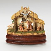 Holy Family Musical Figurine