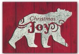 Christmas Joy, Bear, Christmas Cards, Box of 18