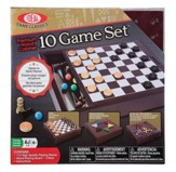 Premium Wood Box: 10 Game Set