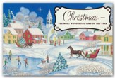The Most Wonderful Time, Christmas Cards, Box of 18
