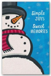 Simple Joys, Sweet Memories, Christmas Cards, Box of 18