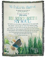 He Restoreth My Soul Throw