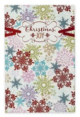 Christmas Joy, Snowflakes, Christmas Cards, Box of 18