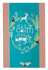 All is Calm, All is Bright, Christmas Cards, Box of 18