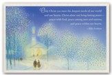 Only Christ Meets Our Needs, Christmas Cards, Box of 18