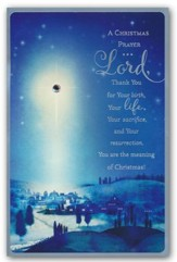 A Christmas Prayer, Christmas Cards, Box of 18