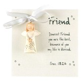 Dearest Friend, Angel Ornament