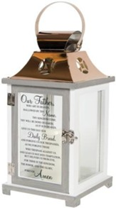 Lord's Prayer, LED Lantern