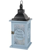 Faith, Family, Friends Lantern