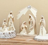 Nativity Set with Arch, Set of 6