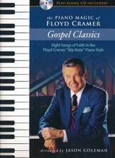 The Piano Magic of Floyd Cramer: Gospel Classics (Book + CD)