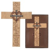 For God So Loved the World Wall Cross