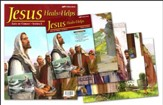 Jesus Heals and Helps Flash-a-Card Set (for use with Bible Adventures Primary Sunday School Curriculum)