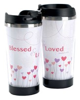 Blessed and Loved Travel Mug