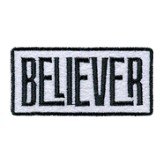 Believer, Iron On Patch