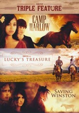 Triple Crown Set: Camp Harlow/ Lucky's Treasure/ Saving Winston