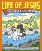 Life of Jesus Puzzle and Activity Book: Activity Fun with your Best-loved Bible Stories