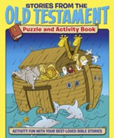 Stories from the Old Testament Puzzle and Activity Book: Activity Fun with your Best-loved Bible Stories