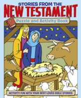 Stories from the New Testament Puzzle and Activity Book: Activity Fun with your Best-loved Bible Stories