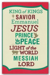 King of Kings, Christmas Cards, Box of 18