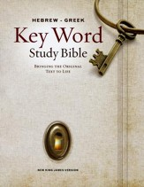 NKJV Hebrew-Greek Key Word Study Bible, Hardcover