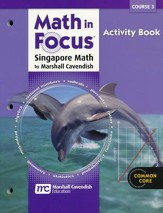 Math in Focus Grade 8 Course 3 Blackline Activities Book