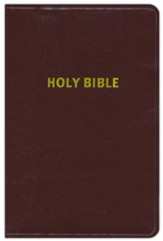 NASB (1977 Edition) Giant Print Handy-Size Bible, Burgundy Bonded Leather - Imperfectly Imprinted Bibles