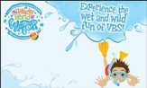 The Wacky World of Water VBS: Dive into God's Word! Outdoor Banner