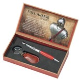 Full Armor of God, Pen and Keychain Set, Ephesians 6:14-17
