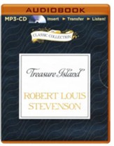 Treasure Island - abridged audiobook on MP3-CD