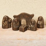 Celtic Mini Nativity Set 6 Pieces