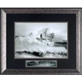 The Name Of the Lord Is A Strong Tower, Cantabria Lighthouse Framed Art