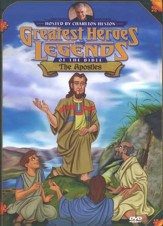 The Apostles,  Greatest Heroes and Legends of the Bible DVD