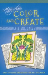 Marty Noble's Color and Create Greeting Cards